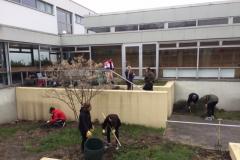 Unsere Innenhof-Garten-AG